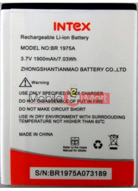 Mobile Battery For Intex Aqua Secure